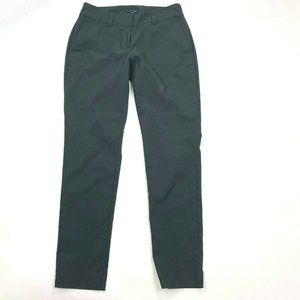 Eileen Fisher Solid Gray Tencel Pants Pockets
